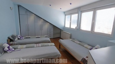 CATHERINE duplex apartment in Belgrade three beds bedroom