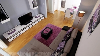 DANDELION apartment New Belgrade, belville, living room