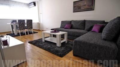 IN apartman Novi Beograd, dnevna soba