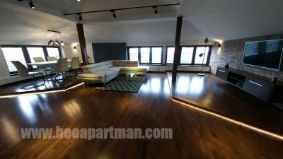 GRAND apartman Beograd, dnevna soba