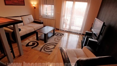 LARA apartman Beograd, dnevni boravak