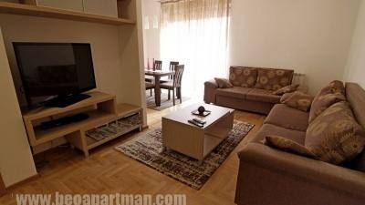 SKENDER apartman Beograd, dnevna soba