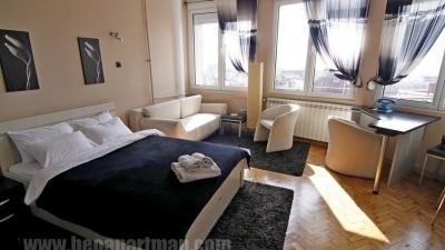 PANORAMA apartman Beograd, dnevna soba