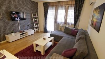Apartman Milica dnevna soba, Apartmani Beograd