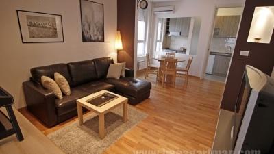ZUMBUL apartman Novi Beograd, dnevna soba