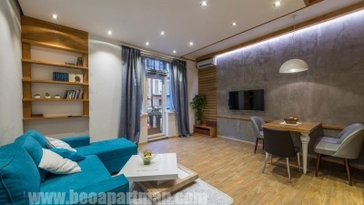 living room FANTASY luxurious apartment Belgrade the very city center