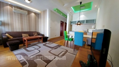HRAM apartman Beograd, dnevna soba