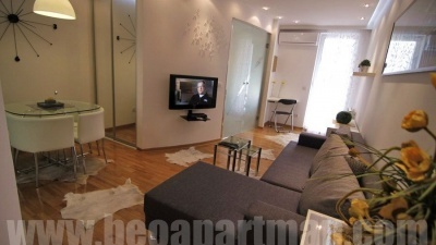 LAGUNA apartment Belgrade, living room