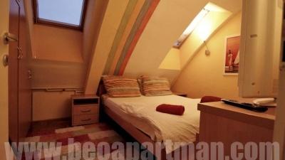 ARENA2 apartman Novi Beograd, spavaća soba